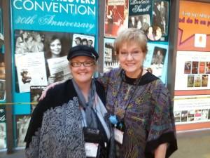 Ruth and Cheryl St. John