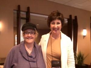 Ruth and Pam Crooks
