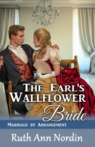 the earl's wallflower bride ebook cover