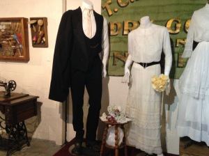 groom and bride clothing