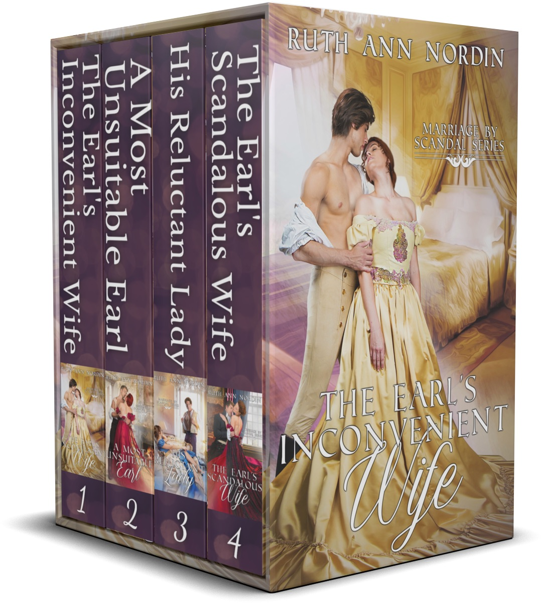 Marriage by Scandal Series Boxed Set