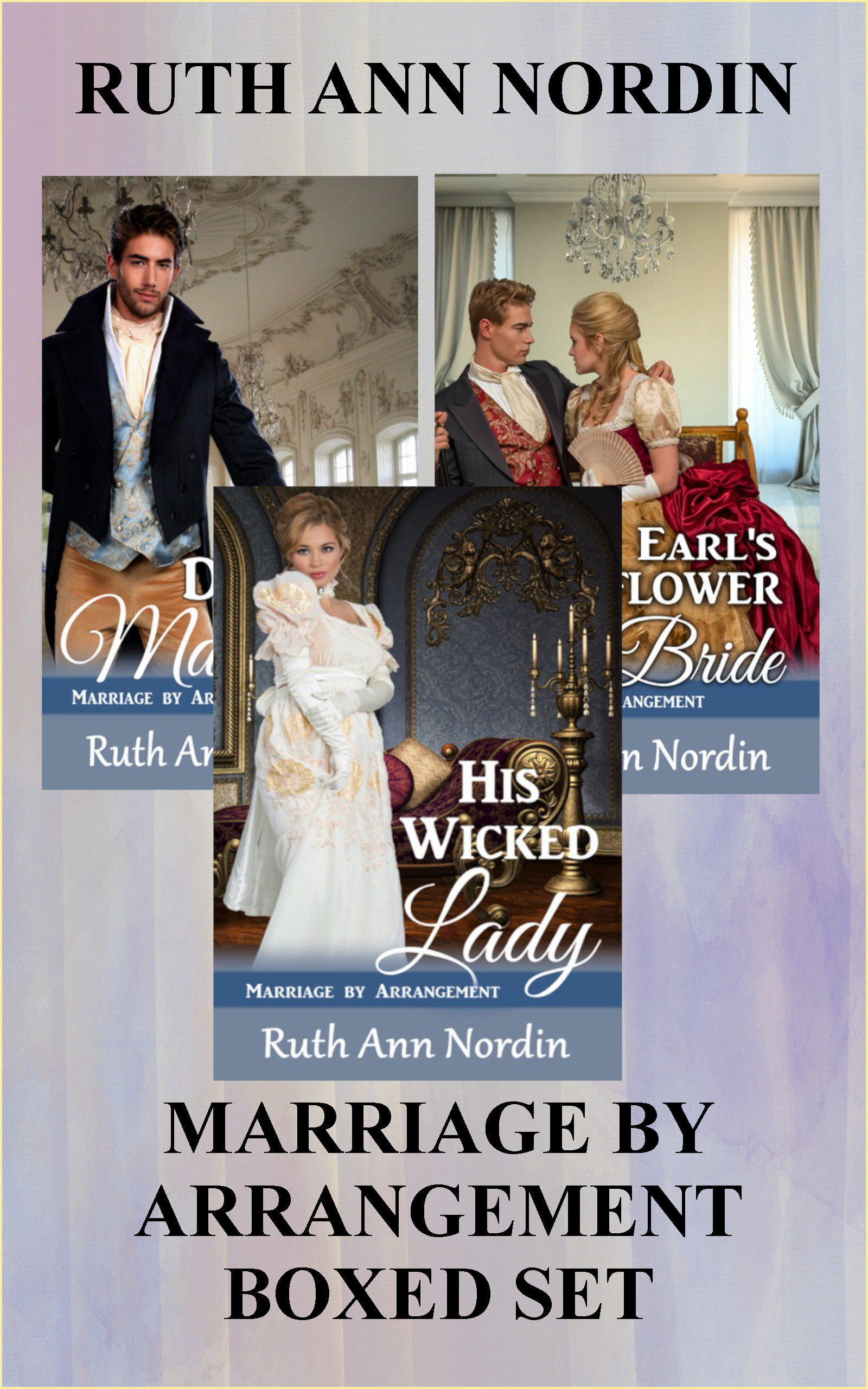 Marriage by Arrangement Boxed Set flat ebook cover