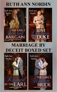 Marriage by Deceit Boxed Set flat ebook cover