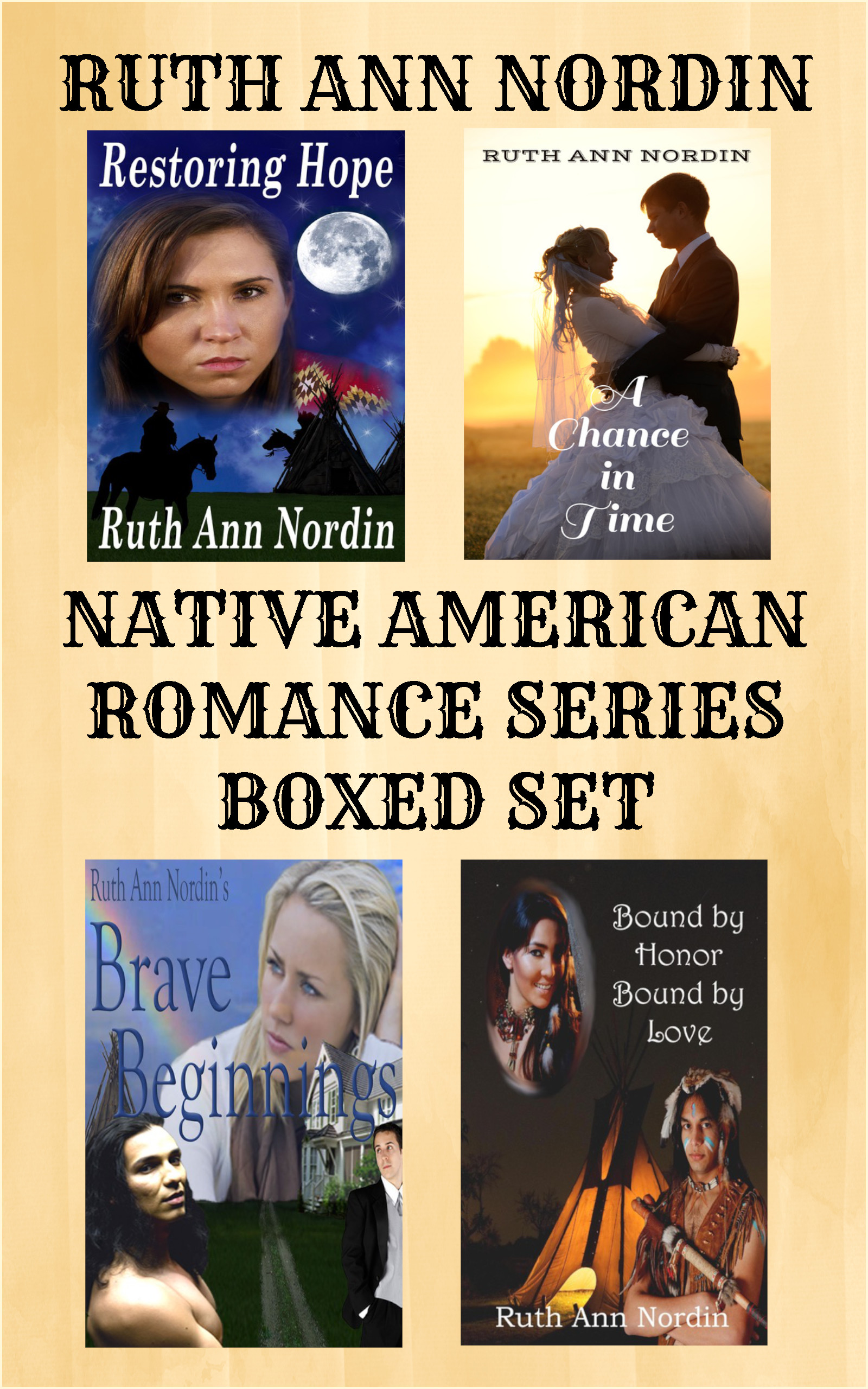 Native American Romance Series Boxed Set new cover