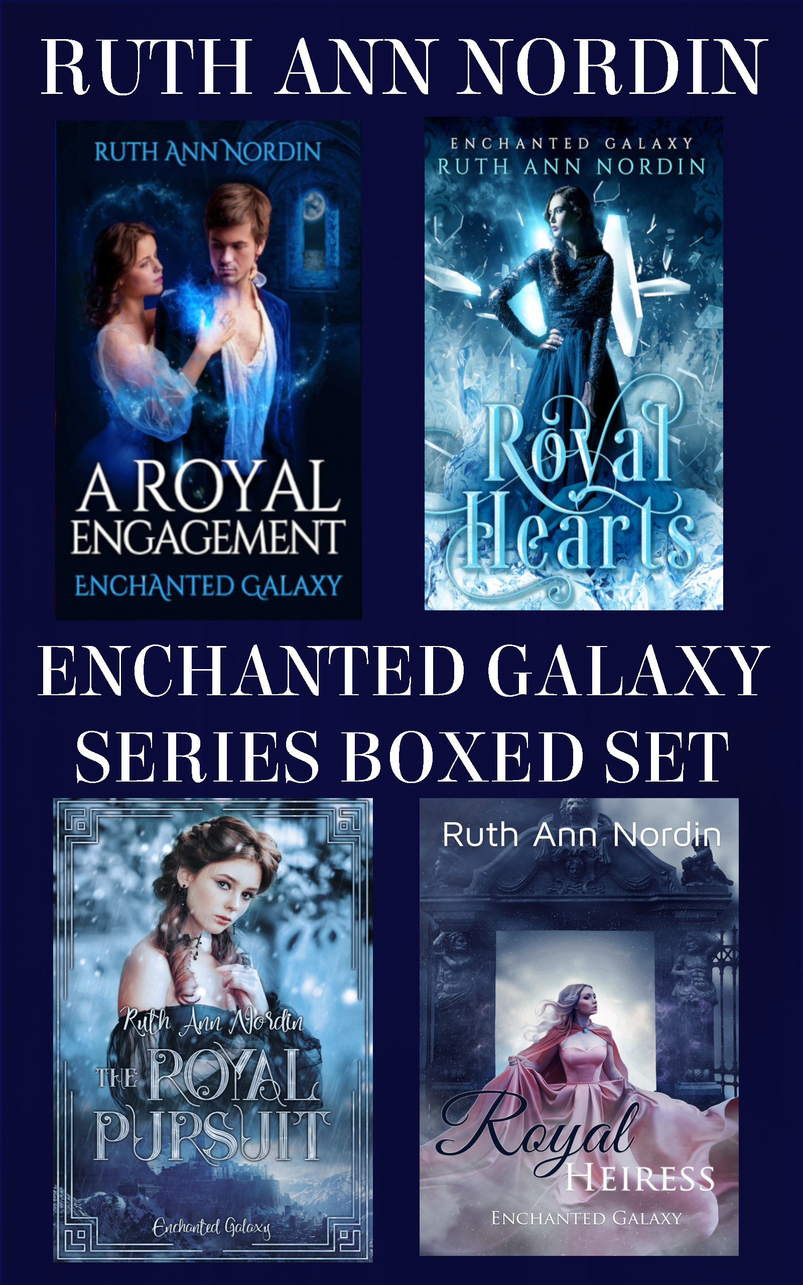 Enchanted Galaxy Boxed Set flat ebook cover