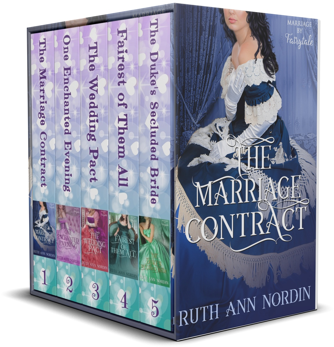 Marriage by Fairytale Series Boxed Set 3D Cover