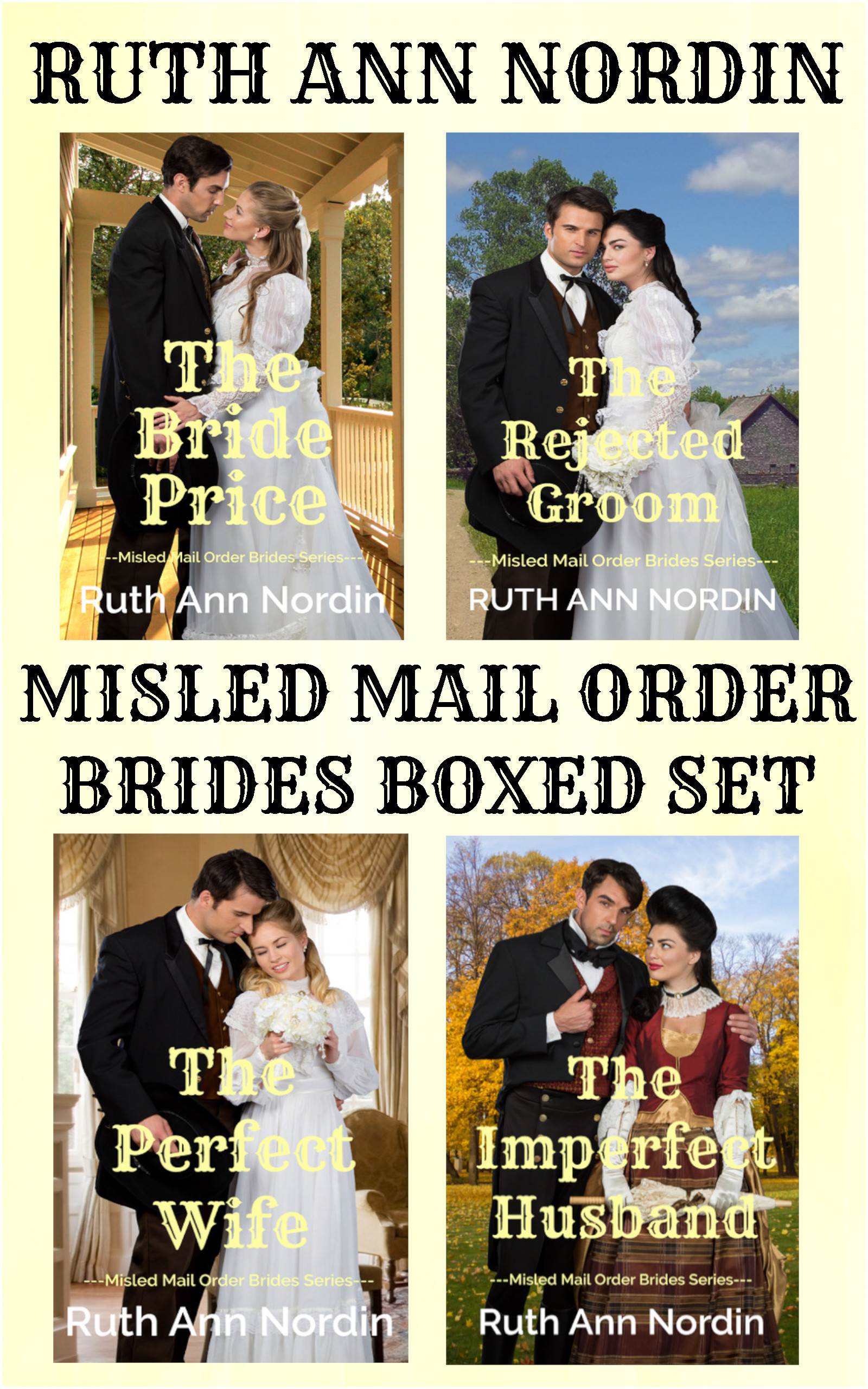 Misled Mail Order Brides boxed set flat ebook cover