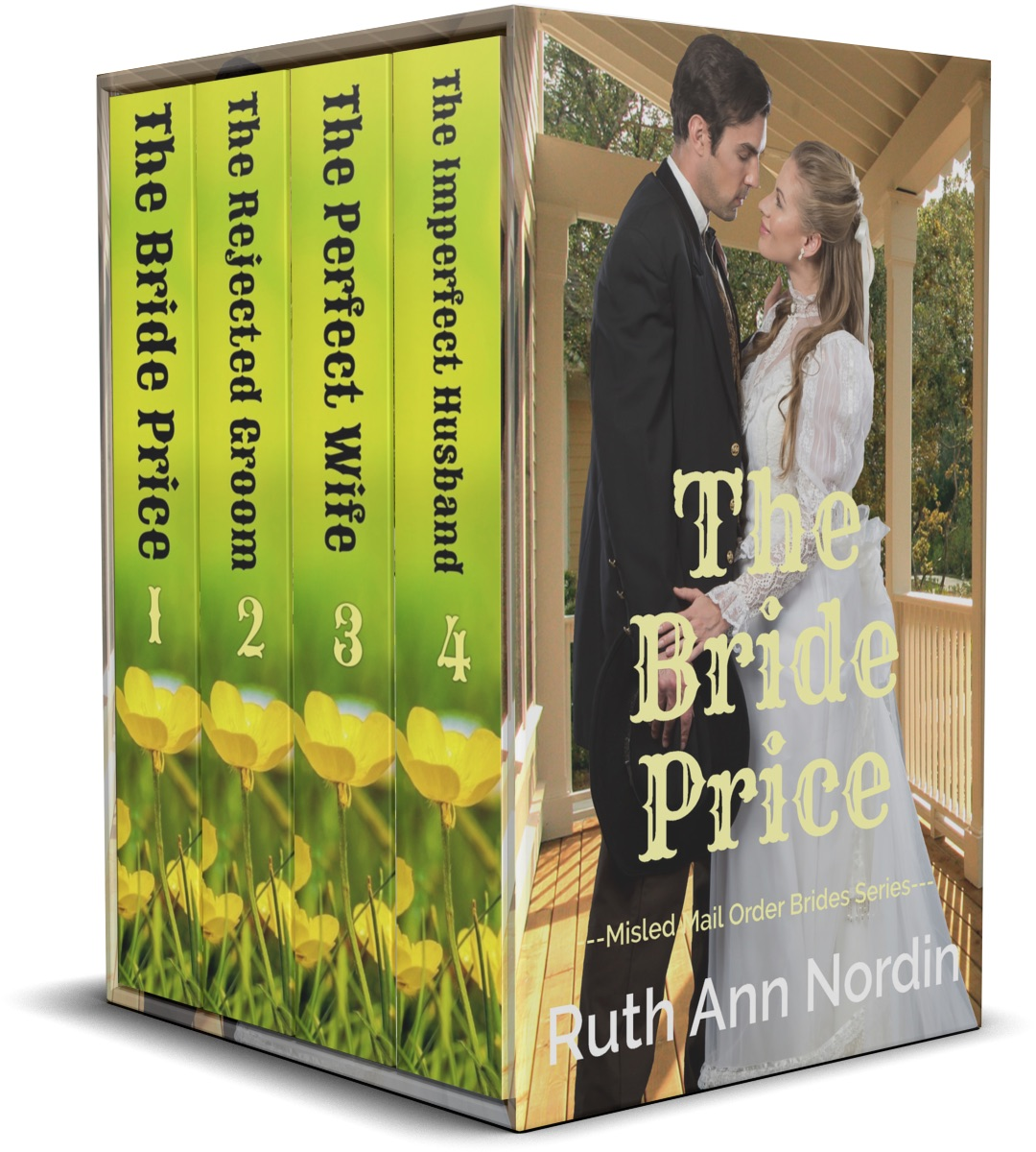 Misled Mail Order Brides Series Boxed Set 3D Cover