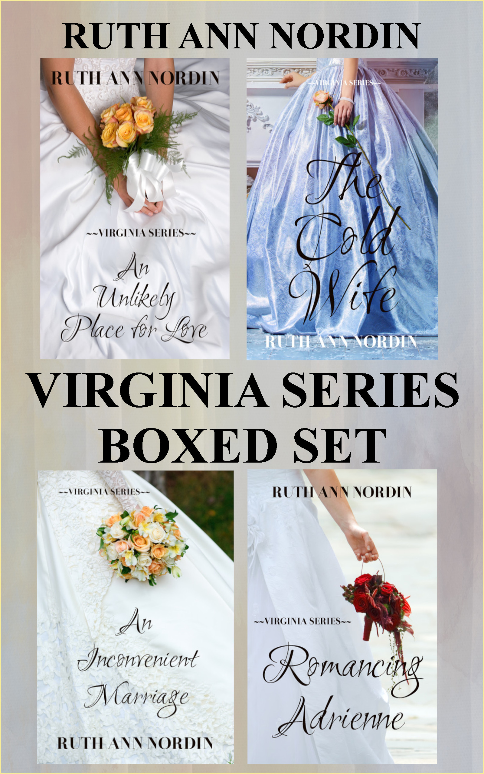 Virginia Series Boxed Set flat ebook cover